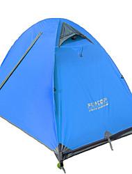 FLYTOP 2 Personas Tienda Doble Carpa para camping Mantiene abrigado A Prueba de Humedad Bien Ventilado Resistente al Viento Resistente a