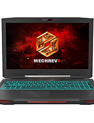 mechrevo portátil de jogos backlit x6ti-m2 pro15.6 polegadas Intel Core i7 quad Windows 10 16 GB de RAM de 1 TB SSD de 256GB