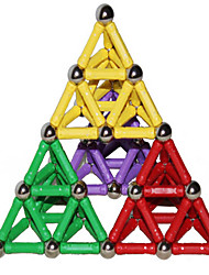 Educational Toy For Gift  Building Blocks Model & Building Toy Architecture Plastic 2 to 4 Years / 5 to 7 Years / 8 to 13 Years Rainbow