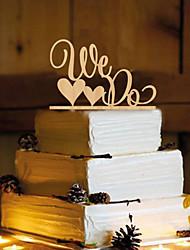 Decorações de Bolo Não-personalizado Monograma Resina Casamento Amarelo Tema Borboleta 1 PPO