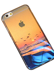 Para Funda iPhone 6 / Funda iPhone 6 Plus Diseños Funda Cubierta Trasera Funda Paisaje Suave SiliconaiPhone 7 Plus / iPhone 7 / iPhone 6s
