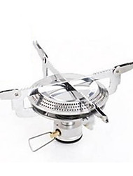Stainless Steel Stove Black Single Camping BBQ Cycling Hiking Outdoor Picnic