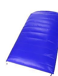 Спальный мешок Прямоугольный Двуспальный комплект (Ш 200 x Д 200 см) -15-20 Утиный пух 300г 220X125Пешеходный туризм Походы Путешествия