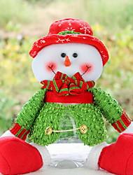 Mädchen Schmuckset Winter Baumwollmischung Grün Rot