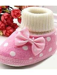 Baby Boots Comfort Cotton Casual Pink Purple Red