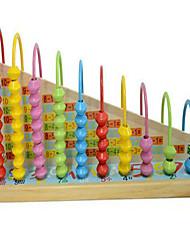 Обучающая игрушка Игрушечные счеты Хобби и досуг Цилиндрическая Дерево Радужный Для мальчиков