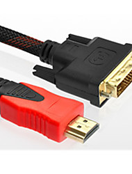 DVI To HDMI Cable HD Cable 3 M Dvi-D Line HD TV Cable PS3 Monitor Cable