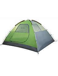 3-4 Pessoas Tenda Triplo Tenda Automática Um Quarto Barraca de acampamento OxfordProva de Água Respirabilidade Resistente Raios
