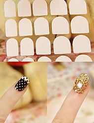 1sheet Brosses à ongles Nail Art outil Nail Salon Make Up