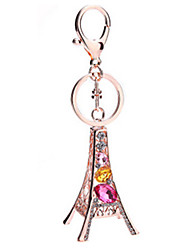 Key Chain Triangle Key Chain Gold