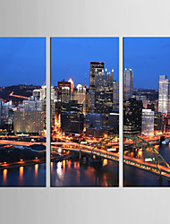 Canvas Set Landscape Abstract Landscape Modern Realism,Three Panels Vertical Print Wall Decor For Home Decoration