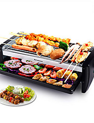 1 PC Household Smokeless Mini Electric Oven Barbecue Electric Baking Pan Burn Oven Korean Barbecue Grill Machine