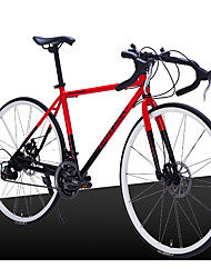 21 Speed 26 Inch/700CC Road Bike Cycling SHIMANO Bent Handlebar Disc Brake 28 Spokes Rim Bicicleta