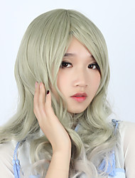 Lolita Wigs Sweet Lolita Lolita Curly Cyan Lolita Wig 70 CM Cosplay Wigs Wig For Women