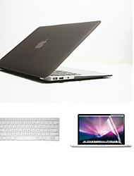 "Fashion 3 in 1 Full Body Cases with Keyboard Cover and Screen Protector for Macbook Air 11.6"" (Assorted Colors)"