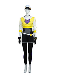 Cosplay Costumes /Poket Little Monster Cosplay Costume High Quality Suit Custom Size Full Set Yellow