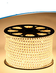 Mlight 50 Meter 72 leds/m 5050 SMD Warm White/White Waterproof/Cuttable 6 W Flexible LED Light Strips AC110-220 V