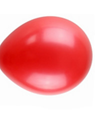 Balloons Circular Rubber Red For Boys / For Girls 2 to 4 Years / 5 to 7 Years / 8 to 13 Years