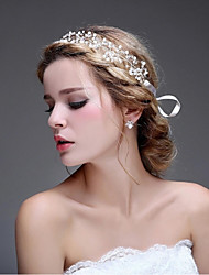 Women's / Flower Girl's Alloy / Imitation Pearl Headpiece-Wedding /  Casual / OutdoorHeadbands / Flowers / Hair Stick /