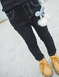 Girl Casual/Daily Solid Pants-Rayon Winter