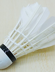 Badminton Shuttlecocks High Strength High Elasticity Durable for Indoor Outdoor Performance Practise Leisure Sports Goose Feather