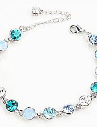Bracelet Chaînes & Bracelets Alliage Serpent Personnalisé Anniversaire / Soirée / Quotidien / Décontracté Bijoux Cadeau Bleu,1pc