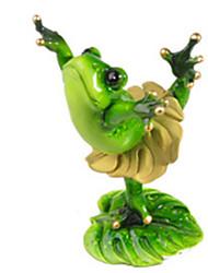 Modèle d'affichage Maquette & Jeu de Construction Jouets Nouveautés Grenouille Silikon Vert Pour Garçons / Pour Filles