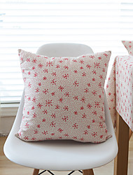 1 pc Cotton Pillow CaseFloral / Holiday Modern/Contemporary / Casual