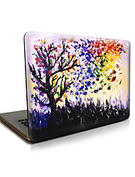 For MacBook Air 11 13/Pro13 15/Pro with Retina13 15/MacBook12 Scrawl Tree Apple Laptop Case