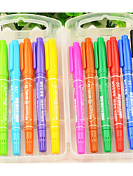 Marker Small Double - Headed Oily Color Marker Pen Marker