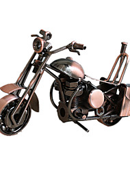 Display Model Model & Building Toy Toys Novelty Motorcycle Metal Bronzed For Boys