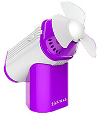 Cool Fresh Portable USB Charging Perfume Fan - Purple