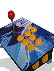 Alta Qualidade USB Arcade Game Joystick Duplas Alongar Rod para PC