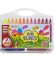 36 Color Creative Stationery Oil Painting Stick Environmental Crayons