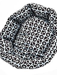 Cat / Dog Bed Pet Mats & Pads Casual/Daily Black Fabric
