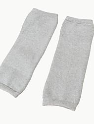 tecido para meias à prova de vento leggings preto / branco / cinza Joelheira meias
