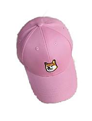Caps / Кепка Удобный унисекс Бейсбол Весна / Лето Белый / Розовый / Серый / Чёрный