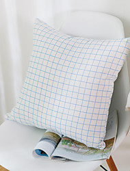 1 pc Cotton Pillow CaseSolid / Plaid Modern/Contemporary / Casual