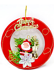 Christmas Decorations / Christmas Party Supplies / Christmas Tree Ornaments Holiday Supplies / Plastic / 2Pcs
