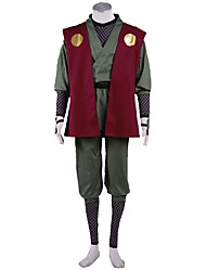 Naruto Anime Cosplay Costumes Kimono Coat  /Pants/T-shirt /Belt/ Sleeves/Leg Warmers/More Accessories male