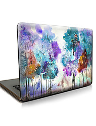 pour macbook air 11 13 / pro13 15 / pro avec retina13 15 / macbook12 arbre de couleur de cas apple portable