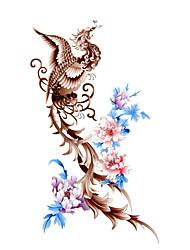 Tatuaggi adesivi Serie totem Fantasia Waterproof Da donna Girl Teen Tatuaggio temporaneo Tatuaggi temporanei