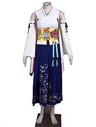 Inspiré par Final Fantasy Cosplay Anime Costumes de cosplay Costumes Cosplay Couleur PleineJupe Soutien-gorge Manche Corset Plus