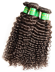 "10Pcs 1Kg Lot Wholesale Indian Virgin Kinky Curly Hair 10""~28"" 6A Unprocessed Human Hair Extensions Weft Color1B"