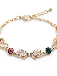 Bracelet Chain Bracelet Alloy Others Friendship Gift / Daily / Casual Jewelry Gift Gold,1pc