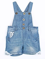 Baby Casual/Daily Solid One-Pieces,Cotton Summer / Spring / Fall