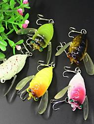 """1 pcs Señuelos duros Señuelos blandos / Vinilos Cebos Señuelos duros Señuelos blandos / Vinilos Colores Surtidos g/Onza mm/2-1/8"""" pulgada,"""