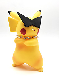Pocket Monster PIKA PIKA PVC 19 Anime Action Figures Model Toys Doll Toy