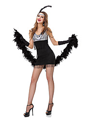Club Style Costumes Solid Dress / Headwear