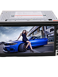 6.95 Inch 2Din In-Dash Car DVD Player with BT,FM,iPod,RDS+Free Rear Viwe Camera